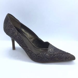 Tribeca Heels Women Size 8 Kenneth Cole Point Toe